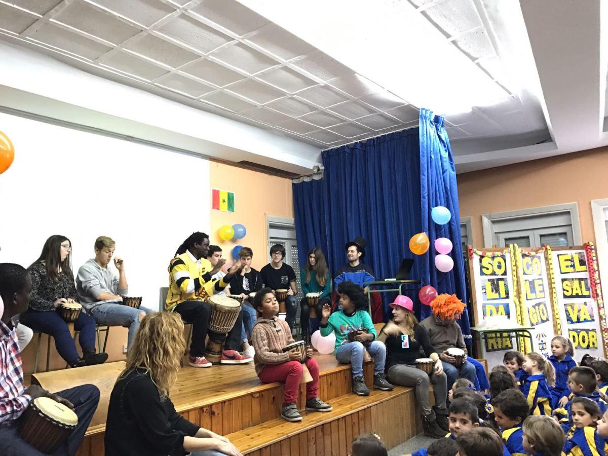 Entreculturas: Francia, Senegal, Japón yVenezuela