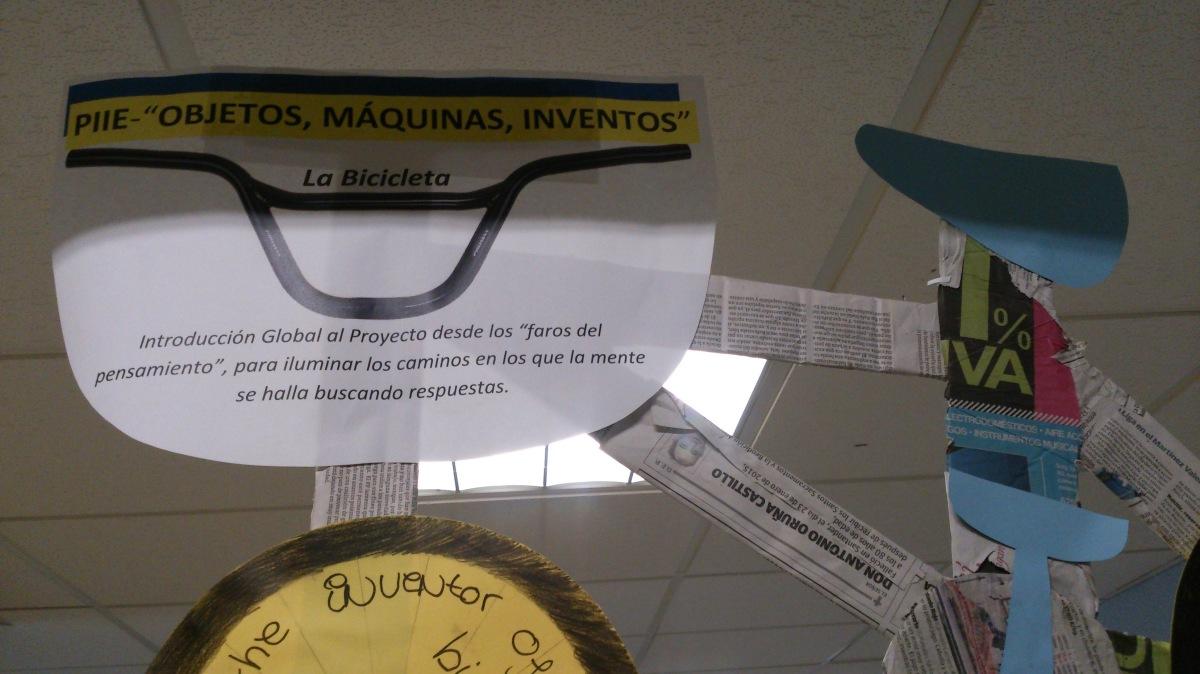 """Introducción Global al Proyecto """"Objetos, máquinas, inventos""""-PIIE-"""
