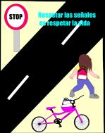 ciclista paz