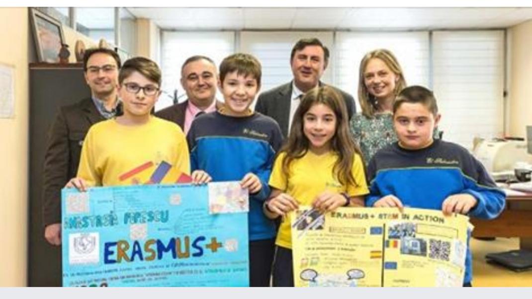 Erasmus+: Encuentro con el Consejero de Educación en las instalaciones de laConsejería