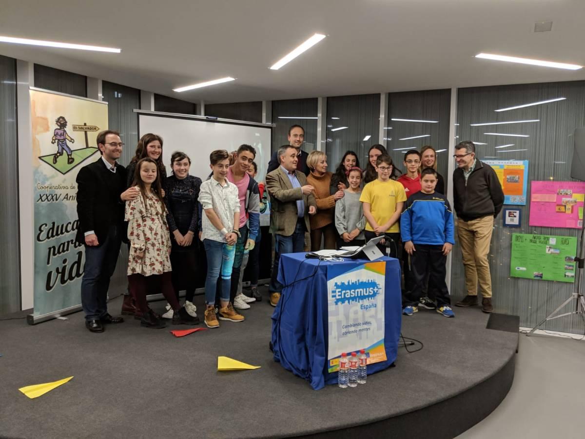 """Presentación pública Erasmus+ """"STEM in Action"""" enTorrelavega"""