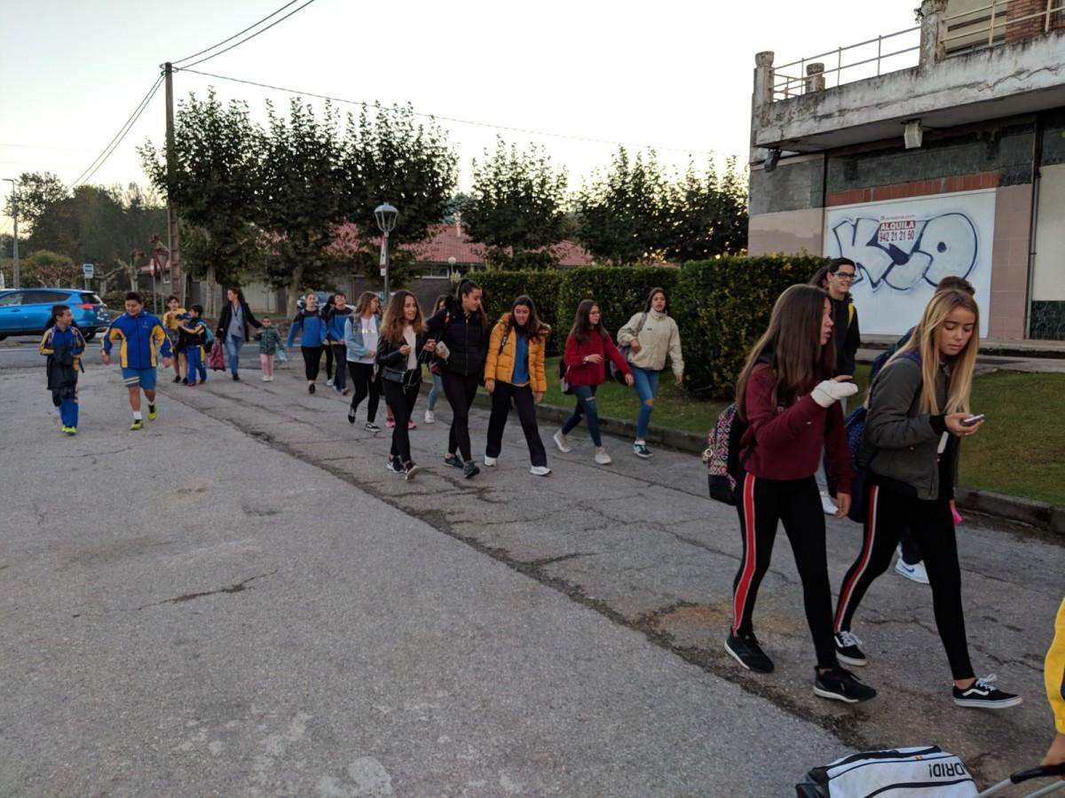Caminos Seguros al Colegio ElSalvador